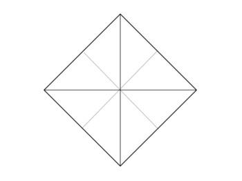 ツイスト系花芯領域の構造(風船の基本形)