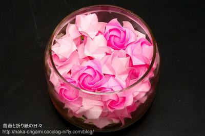 バラのビン詰