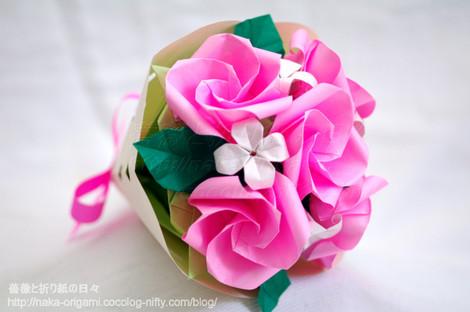 新しいバラ(Kローズ)の花束
