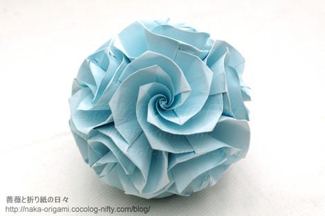 バラのくす玉 U3-20
