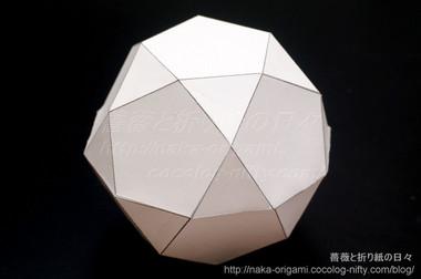 20・12面体のモデル