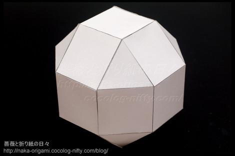 斜方立方八面体のモデル