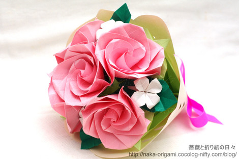 バラ(C3)の花束