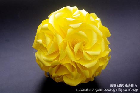 バラのくす玉(U8-30)