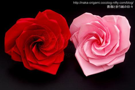 ハートの薔薇(U4・5-6)