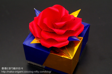 薔薇のギフトボックス