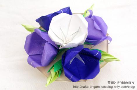 トルコキキョウ(川手章子氏)のテーブル花