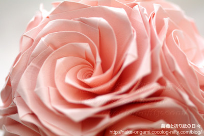 薔薇のくす玉(U13-30) 創作:中 一隆
