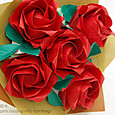 薔薇の花束(6)