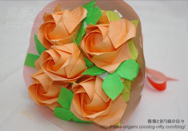 バラの花束(4)