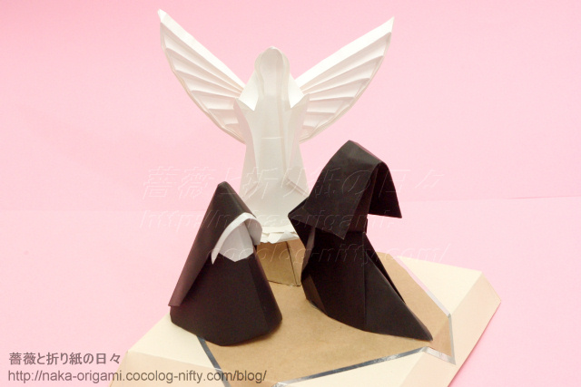 クリスマスの飾り(天使と修道女)-3