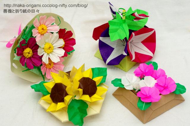 折り紙教室作品サンプル2013夏-1