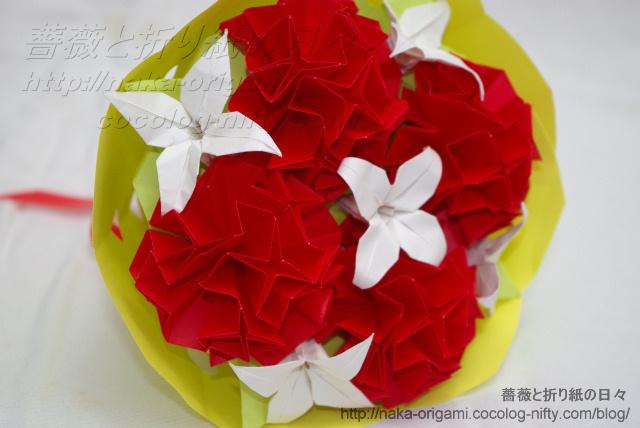 カーネーションの花束-2