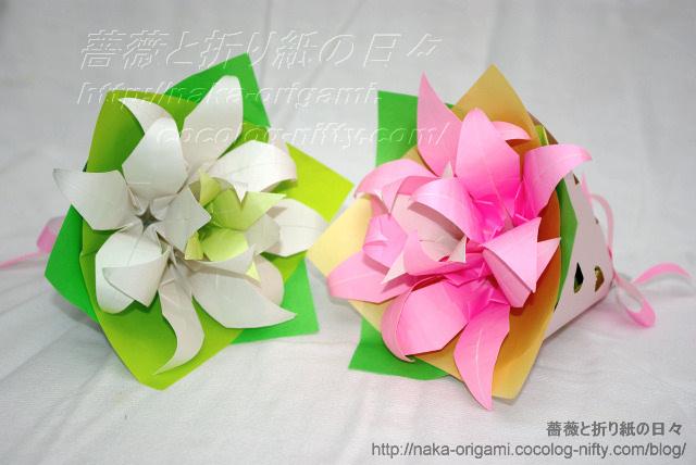 ゆりの花束-1