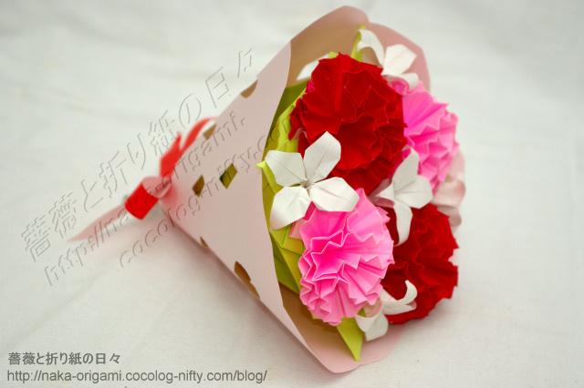 カーネーションの花束-(5)