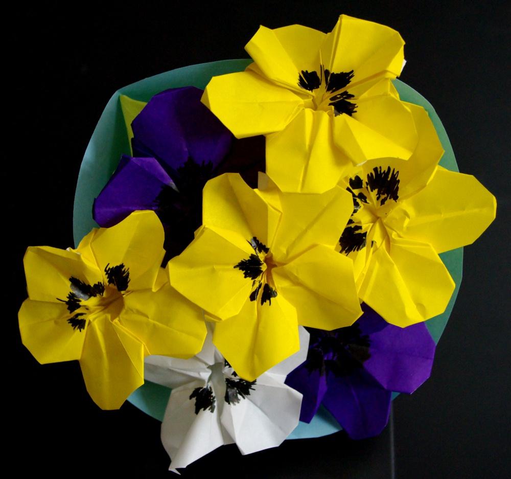 すべての折り紙 折り紙 花 カーネーション : やっと春らしい陽気が続くよう ...