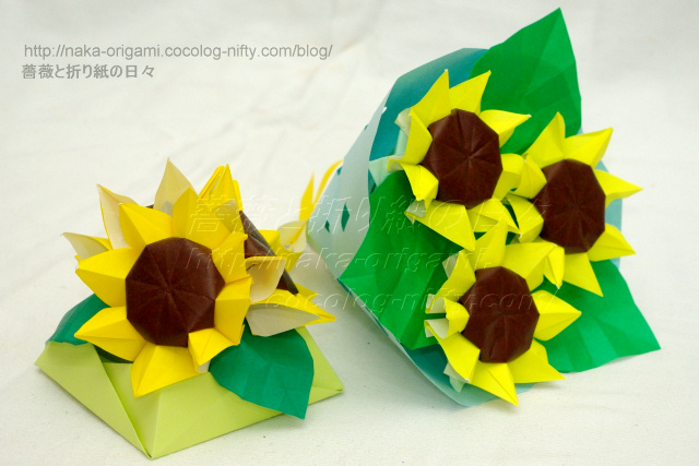 ハート 折り紙 7月の折り紙 : naka-origami.cocolog-nifty.com