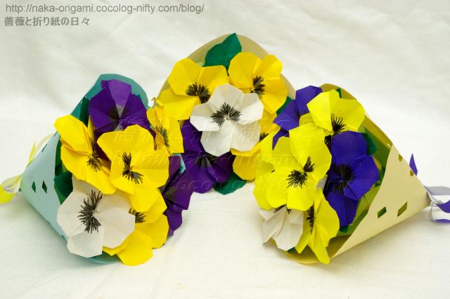 すべての折り紙 折り紙 バラの花束 : ... 花束にするのはかなり困難です