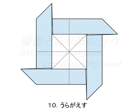 平面のバラ 創作:中 一隆 手順10