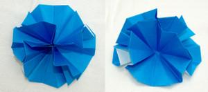 正方基本形に4つのセルを配置