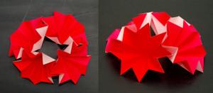 4セル隣接配置構造のモデル