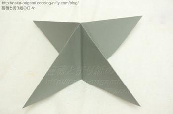 風船の基本形(ツイスト系花芯領域の構造)