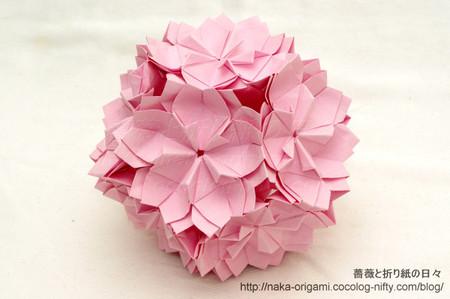 「八重桜」(川崎敏和氏)