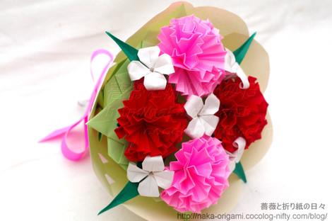 カーネーション(5セル)の花束