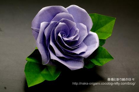 薔薇(U5-5)のコサージュ