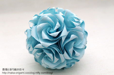 薔薇のくす玉(U14-30)