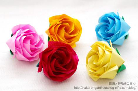 半開トーラス構造の薔薇(T3) 創作:中 一隆