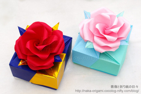 薔薇のギフトボックス 創作:中 一隆