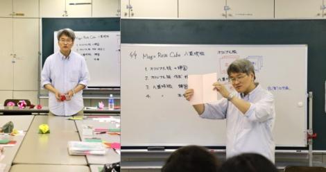6月9日「マジックローズキューブ八重咲版」講習風景