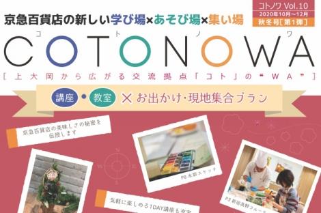 京急COTONOWA 案内冊子表紙