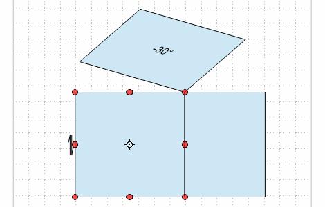 折り図のお絵描き ー3(立体図と投影)Fig10