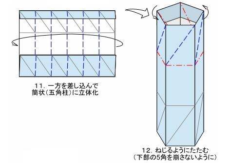 五角のキャンディーFig11-12 創作・作図:中 一隆