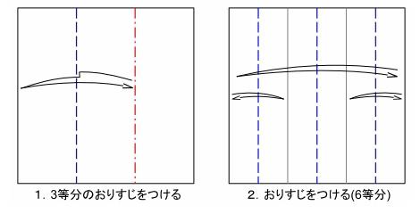 五角のキャンディーFig1-2 創作・作図:中 一隆