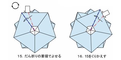 五角のキャンディーFig15-16 創作・作図:中 一隆
