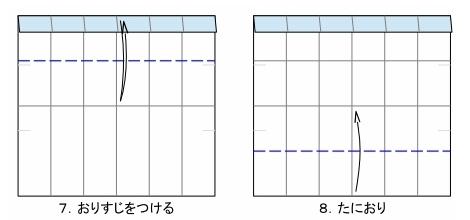 五角のキャンディーFig7-8 創作・作図:中 一隆