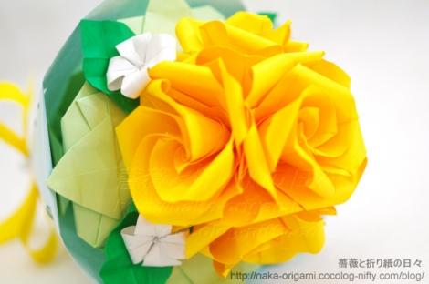 バラU2bの花束(U2b-20) 創作:中 一隆