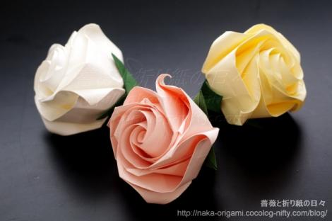 薔薇(C4) 講習作品から