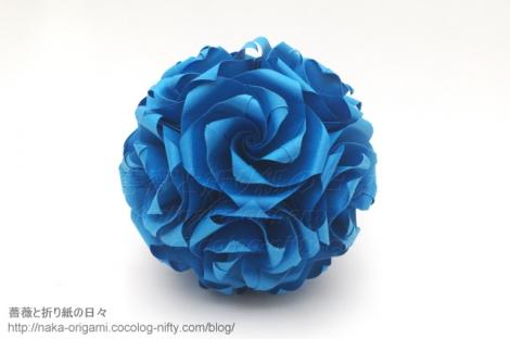 バラのくす玉 U14-30