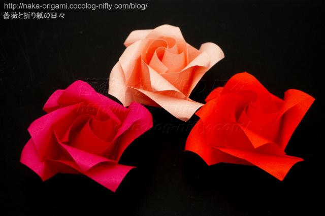 簡単なバラ(複数セル同心配置構造)