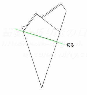 正5角形の切り出しStep9
