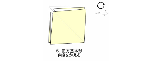 やさしいコスモス 花芯 図5